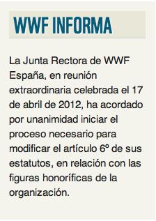 Junta Rectora WWF