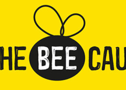 Bee-cause-logo_white-on-yellow710px