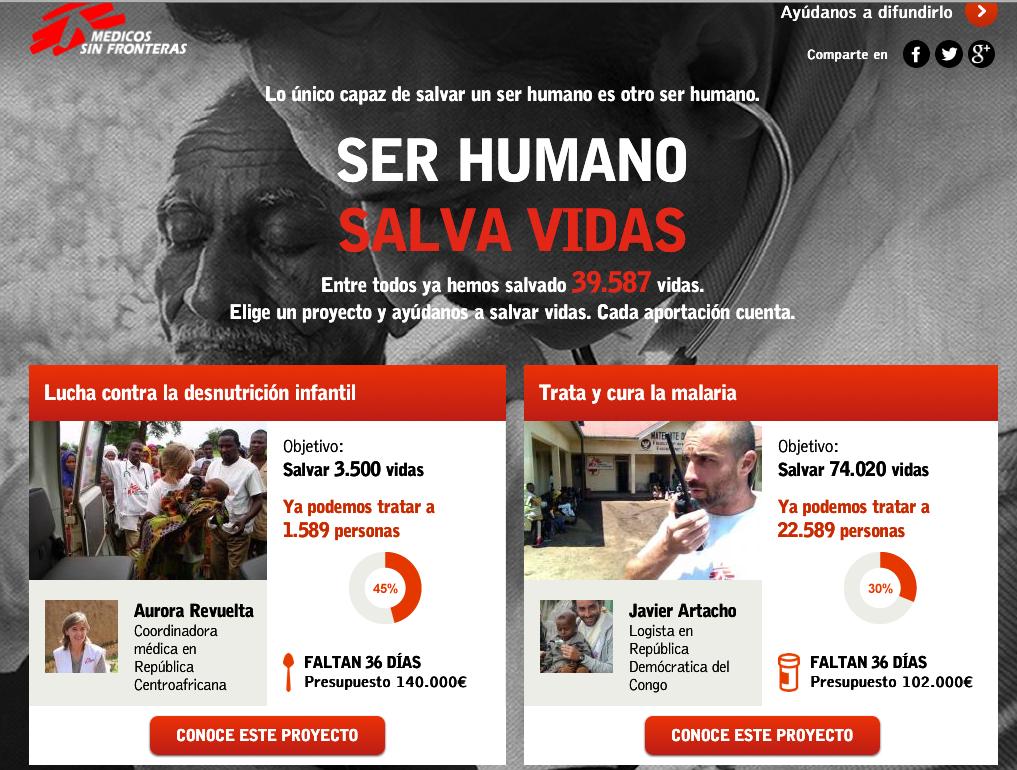 MSF salvar vidas