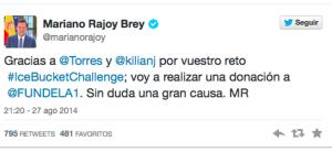 Tweet Mariano Rajoy